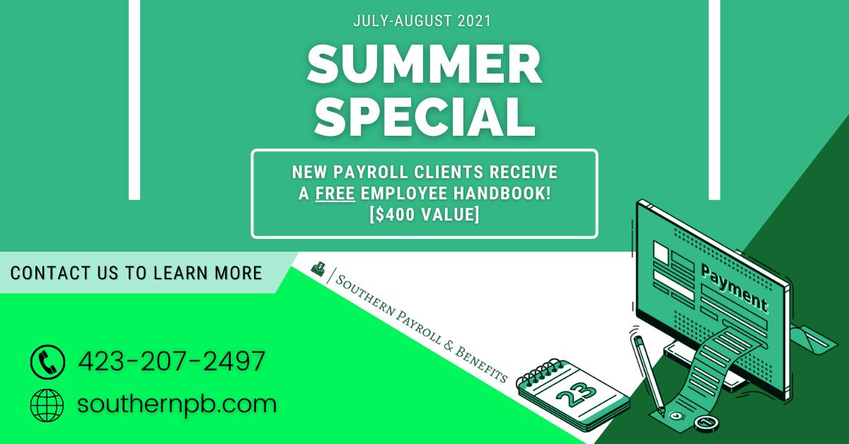 SPB Summer Special - Payroll Deal 2021