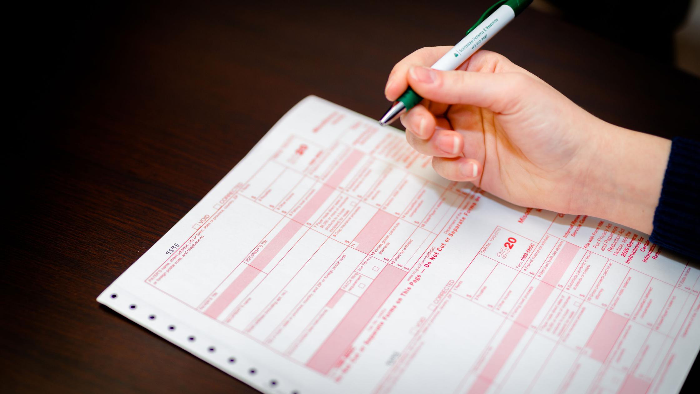 Personal Tax Filings